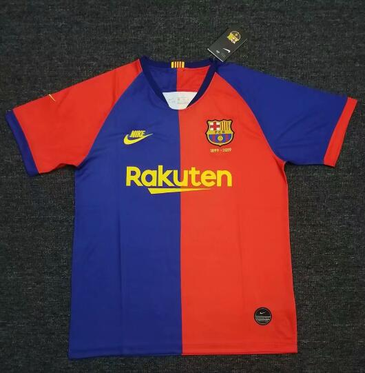 Barcelona 2019/20 120-Years Anniversary Home Shirt Soccer Jersey