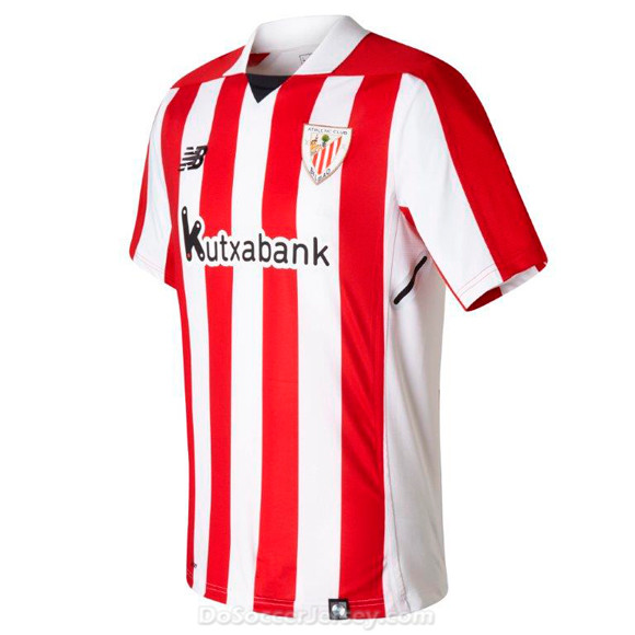 Athletic Club de Bilbao 2017/18 Home Shirt Soccer Jersey
