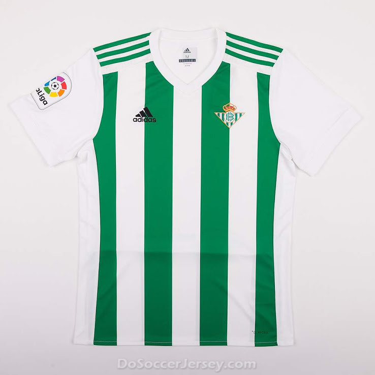 Real Betis 2017/18 Home Shirt Soccer Jersey