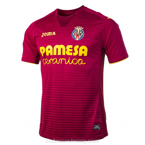 Villarreal 2017/18 Away Shirt Soccer Jersey