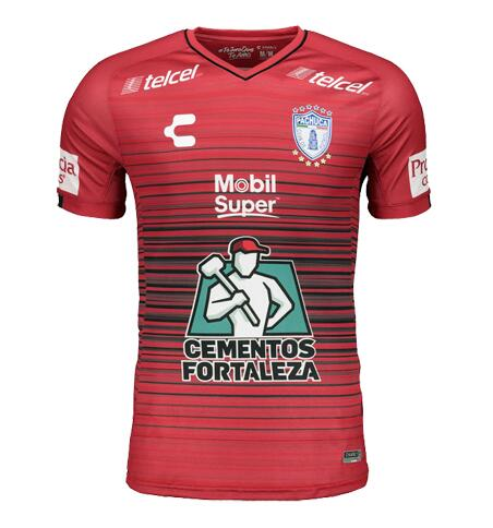 CF Pachuca 2018/19 Red Third Away Shirt Soccer Jersey