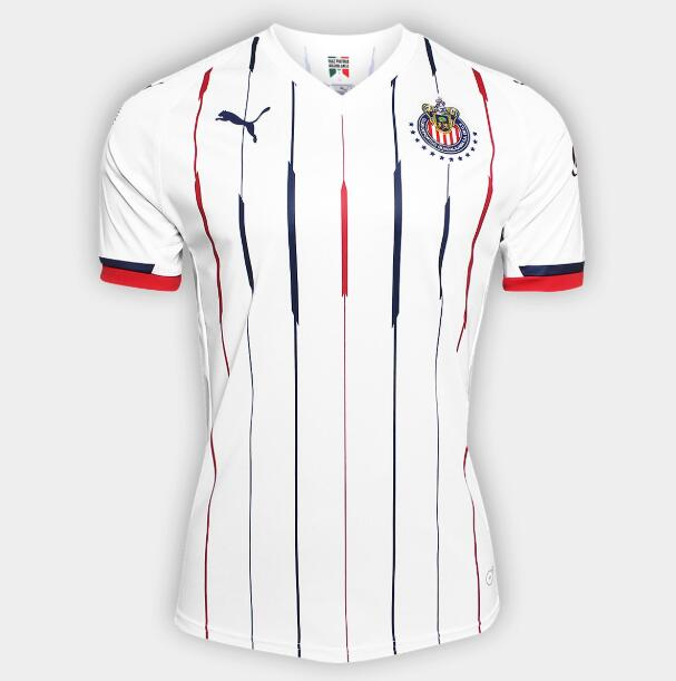 23f2660d948 Deportivo Guadalajara Chivas 2018 19 Away Shirt Soccer Jersey