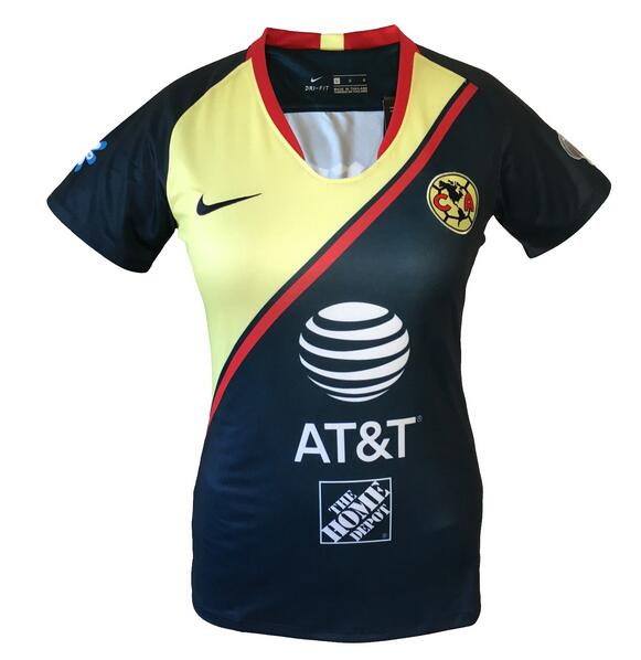 Club America 2018/19 Away Women's Shirt Soccer Jersey