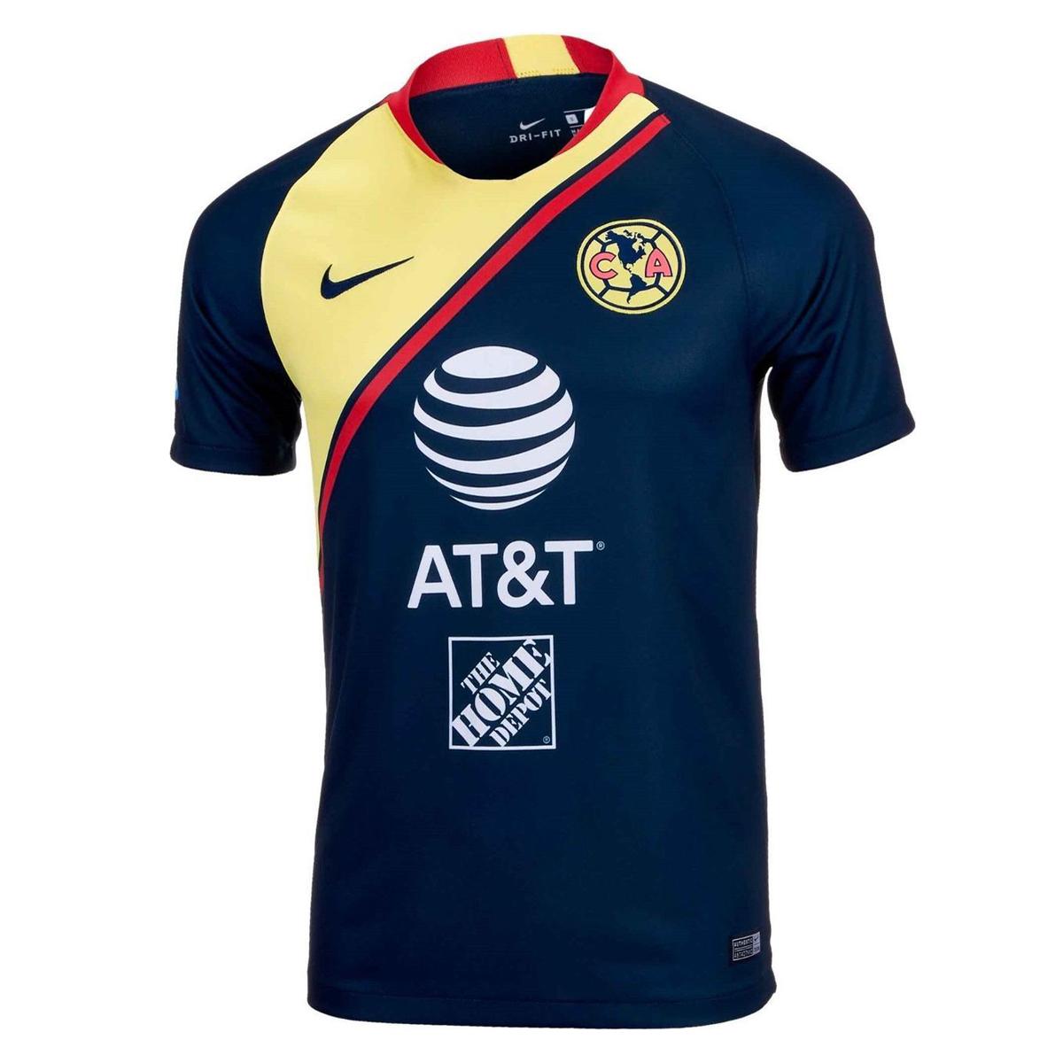 36b603a44 Club America 2018 19 Away Shirt Soccer Jersey
