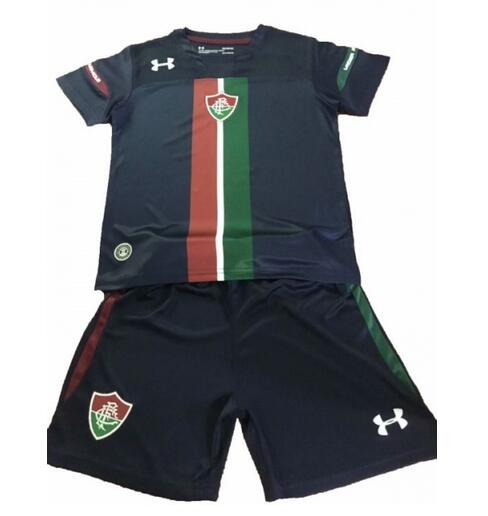 Kids Fluminense FC 2019/2020 Third Away Soccer Jersey Kits (Shirt+Shorts)