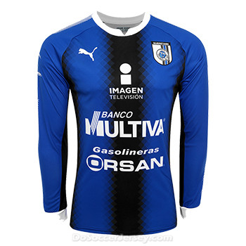 Queretaro 2017/18 Home Long Sleeved Shirt Soccer Jersey