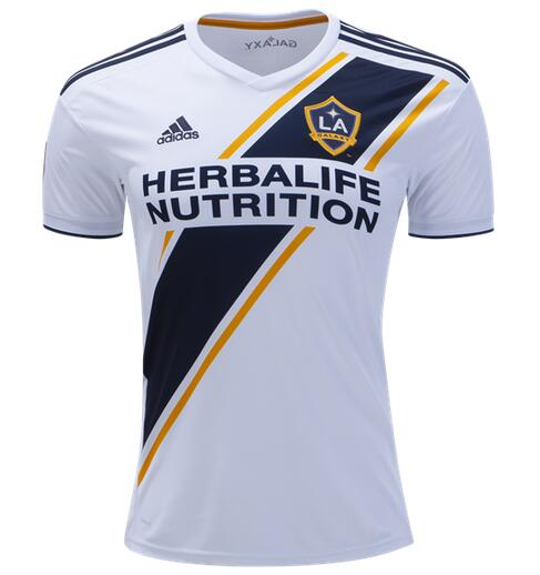 Los Angeles Galaxy FC 2018/19 Home Shirt Soccer Jersey Men
