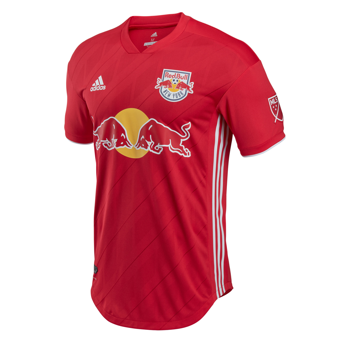 Match Version New York Red Bulls 2018/19 Home Shirt Soccer Jersey