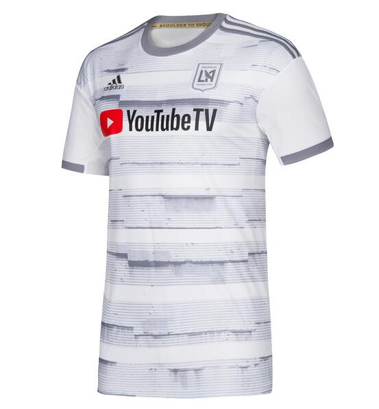 Los Angeles FC 2019/2020 Away Shirt Soccer Jersey White