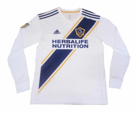 Los Angeles Galaxy FC 2019/2020 Home Long Sleeved Shirt Soccer Jersey