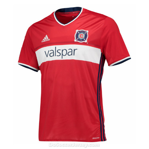Chicago Fire 2017/18 Home Shirt Soccer Jersey
