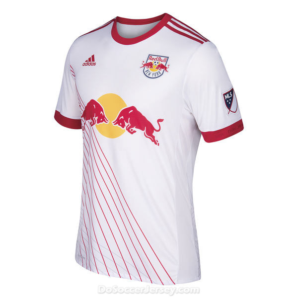 New York Red Bulls 2017/18 Home Shirt Soccer Jersey