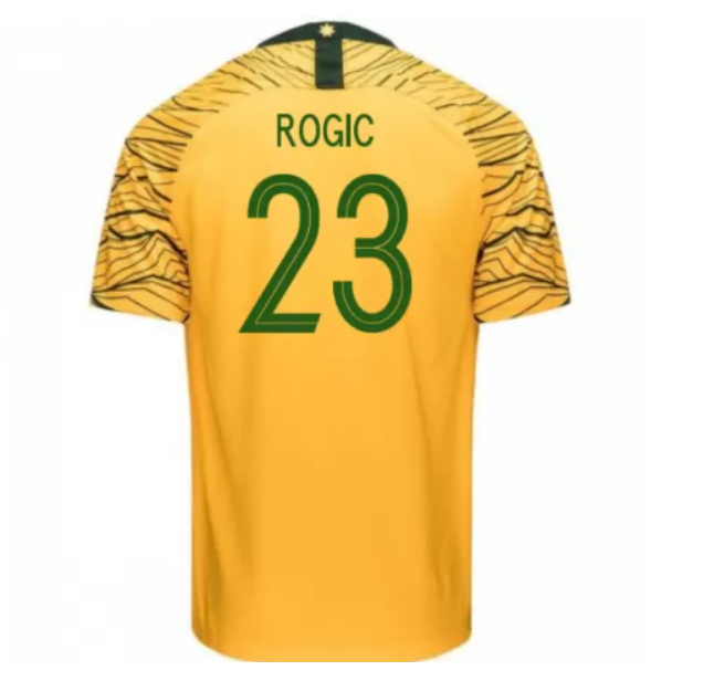 Australia 2018 FIFA World Cup Home Tom Rogic Shirt Soccer Jersey