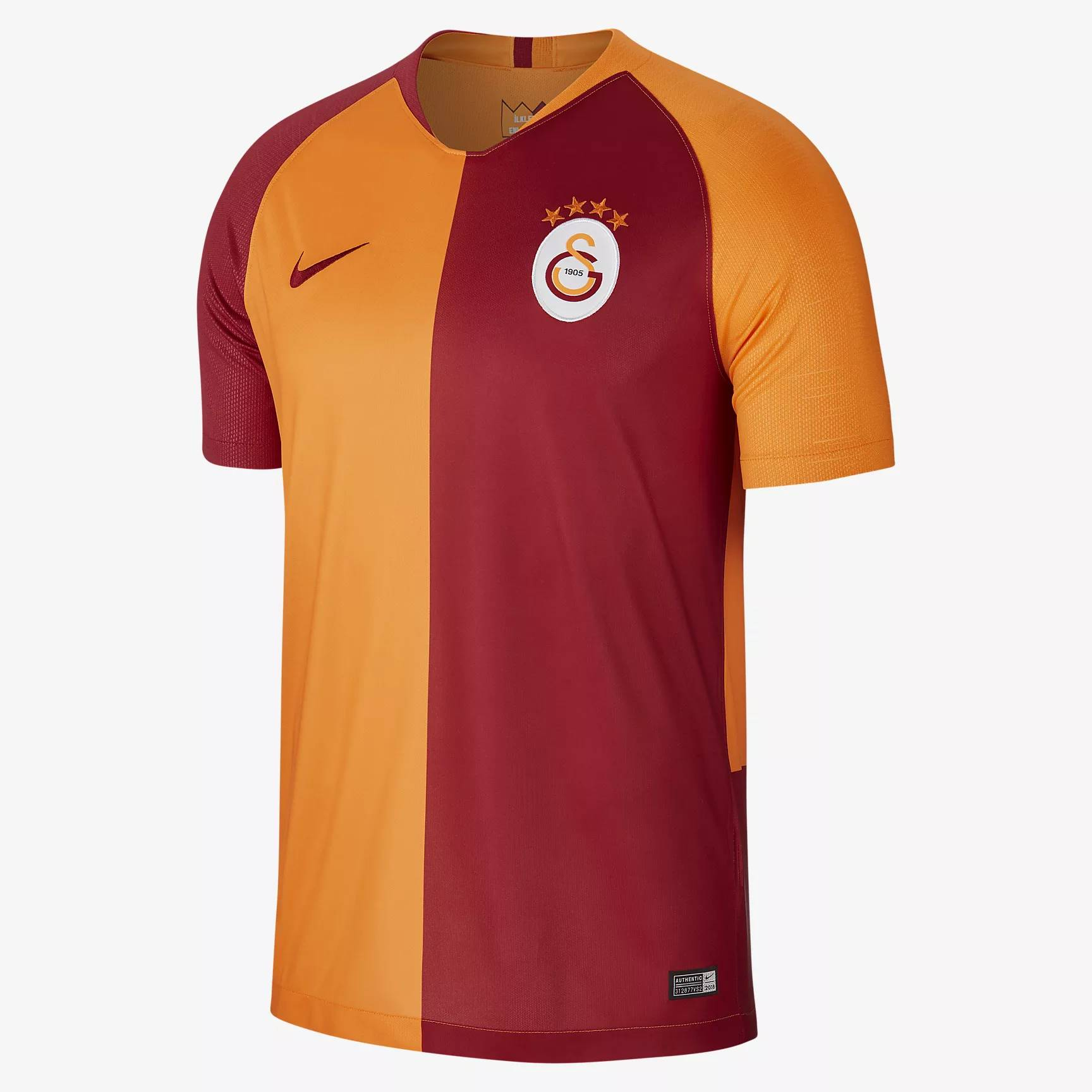 Galatasaray 2018/19 Home Shirt Soccer Jersey