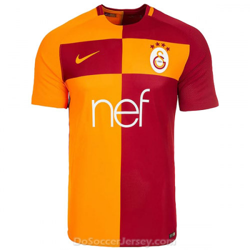 Galatasaray 2017/18 Home Shirt Soccer Jersey