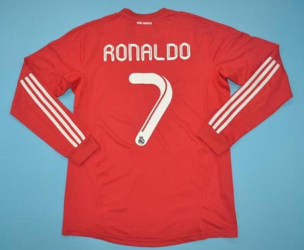 3d95e8272d0 Real Madrid 2012 Third Retro Ronaldo  7 Shirt Long Sleeve Soccer Jersey
