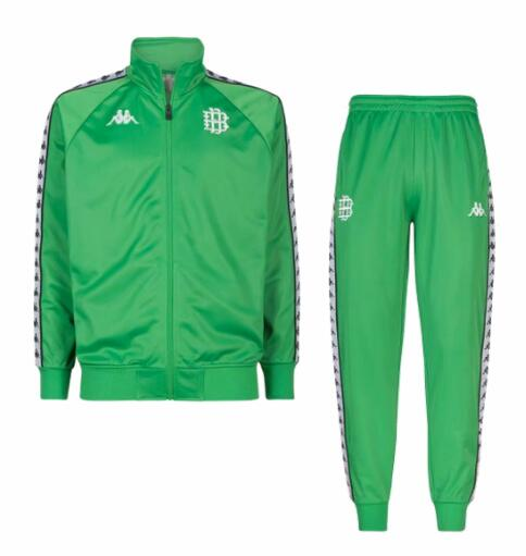 Real Betis 2018/19 Green Retro Training Suit (Jacket+Trouser)