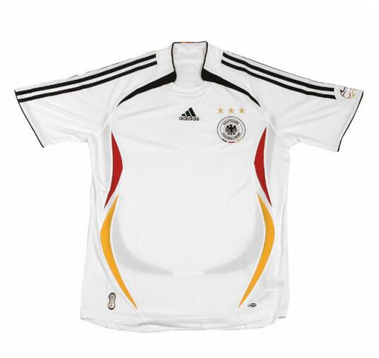 Germany 2006 Home Retro Shirt Soccer Jersey