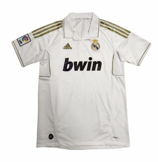 d02119d7d Real Madrid 2012 Home Retro Shirt Soccer Jersey