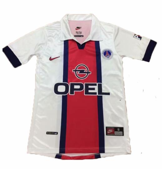 PSG 1998-1999 Away Retro Shirt Soccer Jersey