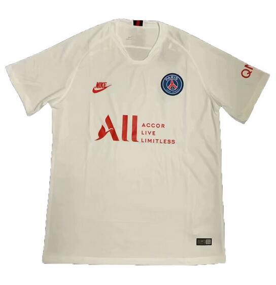 PSG 2019 White anniversary Edition Soccer Jersey Shirt