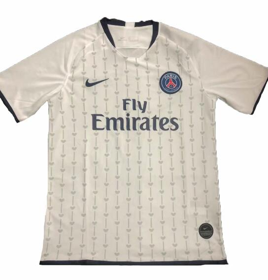 PSG 2019/2020 White Training Shirt