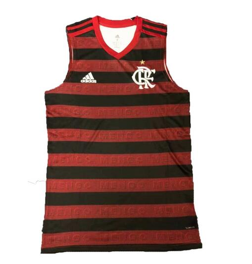 Flamengo 2019/2020 Home Red Vest Shirt Soccer Jersey