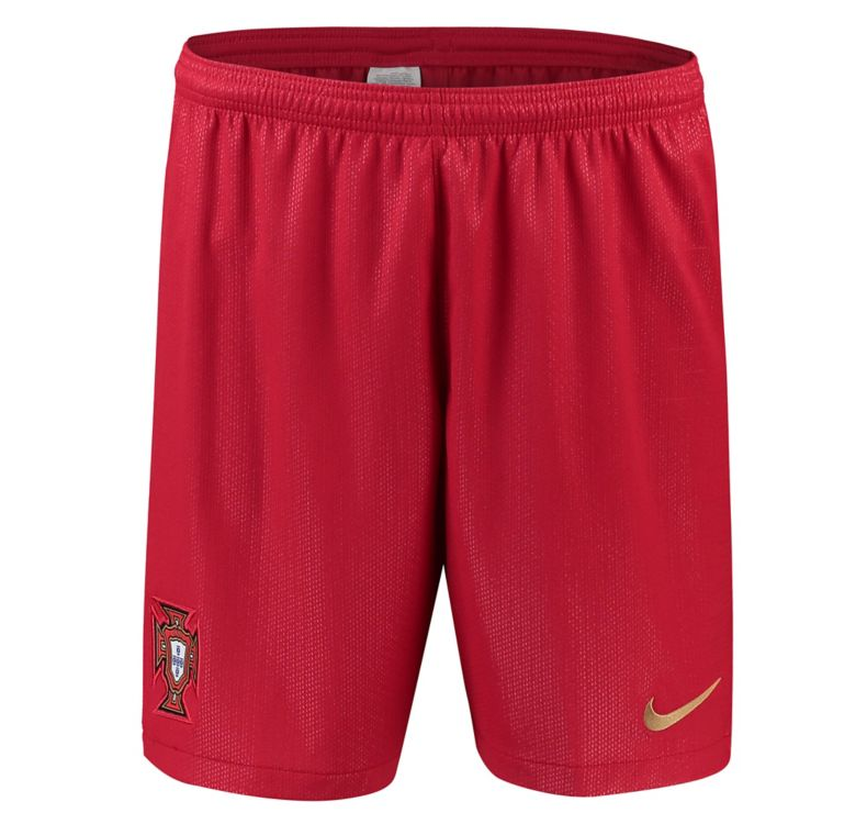 Portugal 2018 World Cup Home Soccer Shorts