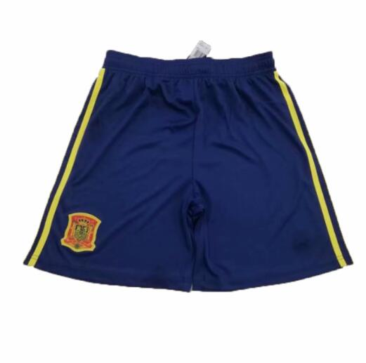 Spain 2019 World Cup Home Soccer Shorts
