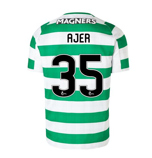 Celtic 2018/19 Home Ajer 35 Shirt Soccer Jersey