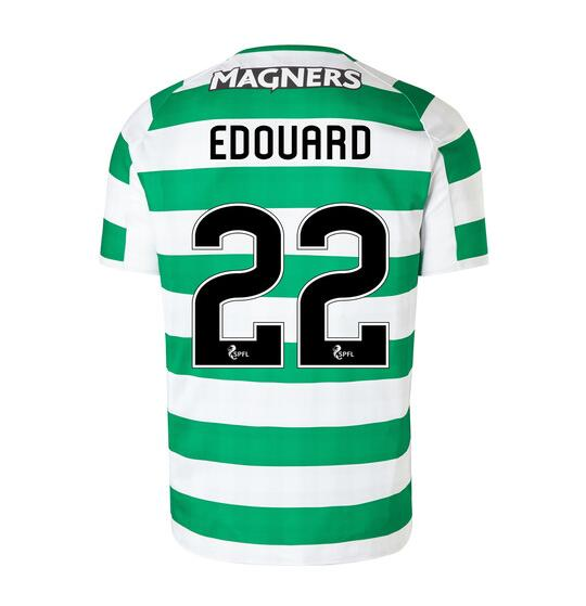 Celtic 2018/19 Home Edouard 22 Shirt Soccer Jersey