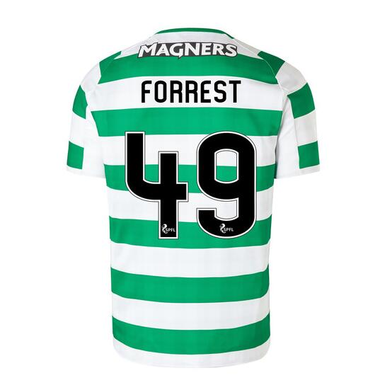 Celtic 2018/19 Home Forrest 49 Shirt Soccer Jersey