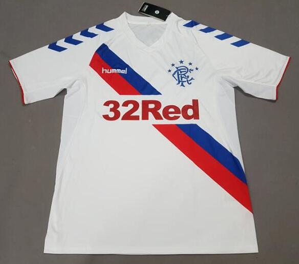 Glasgow Rangers 2018/19 Away Shirt Soccer Jersey