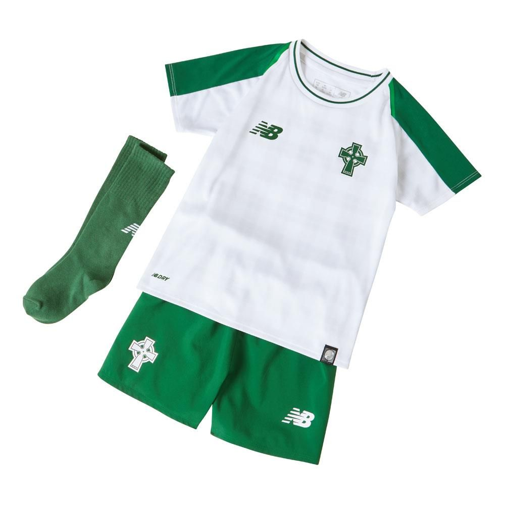 Celtic 2018/19 Away Kids Soccer Jersey Whole Kit Children Shirt + Shorts + Socks