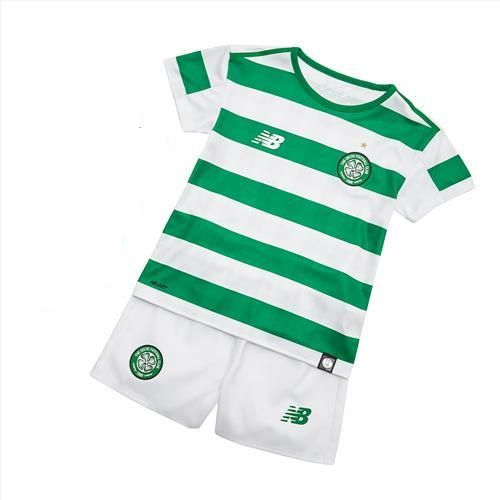 Celtic 2018/19 Home Kids Soccer Jersey Kit Children Shirt + Shorts