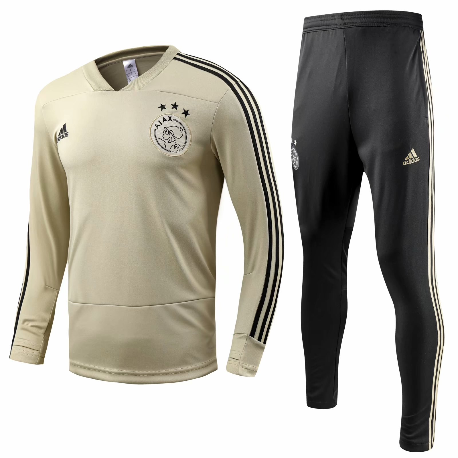 352723bee53 Ajax 2018 19 Apricot Training Suit (Shirt+Trouser)