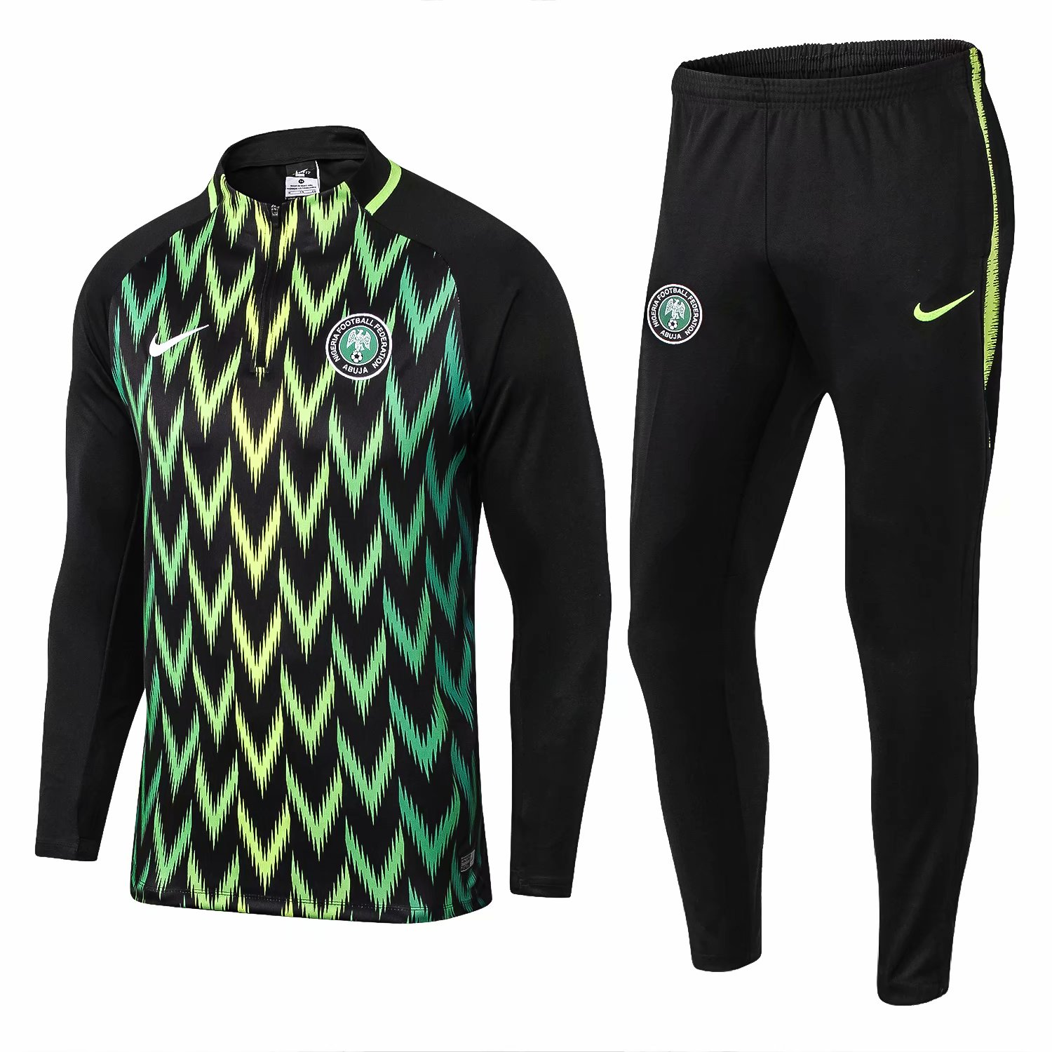 Nigeria FIFA World Cup 2018 Black Training Suit