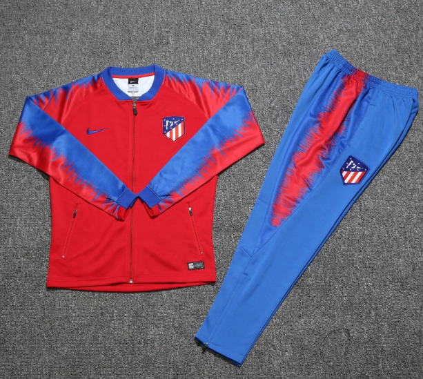 Atletico Madrid 2018/19 Red Training Suit (Jacket+Trouser)