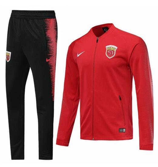 Guangzhou Evergrande 2019/2020 Red N98 Training Suit (Jacket+Trouser)