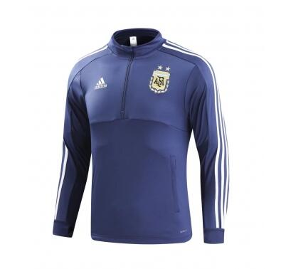 Argentina World Cup 2018 Training Sweat Shirt Blue