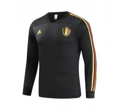 Belgium World Cup 2018 Training Sweat Shirt Black