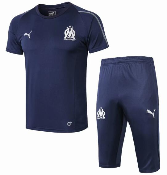 Olympique Marseille 2018/19 Royal Blue Short Training Suit