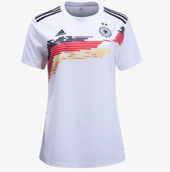 Germany 2019 FIFA Home Women Shirt Soccer Jersey