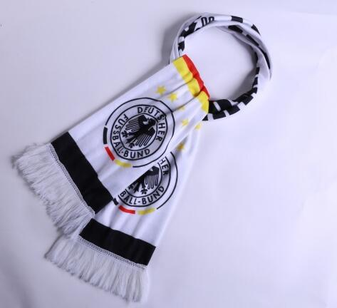Germany 2018 World Cup Soccer Scarf White