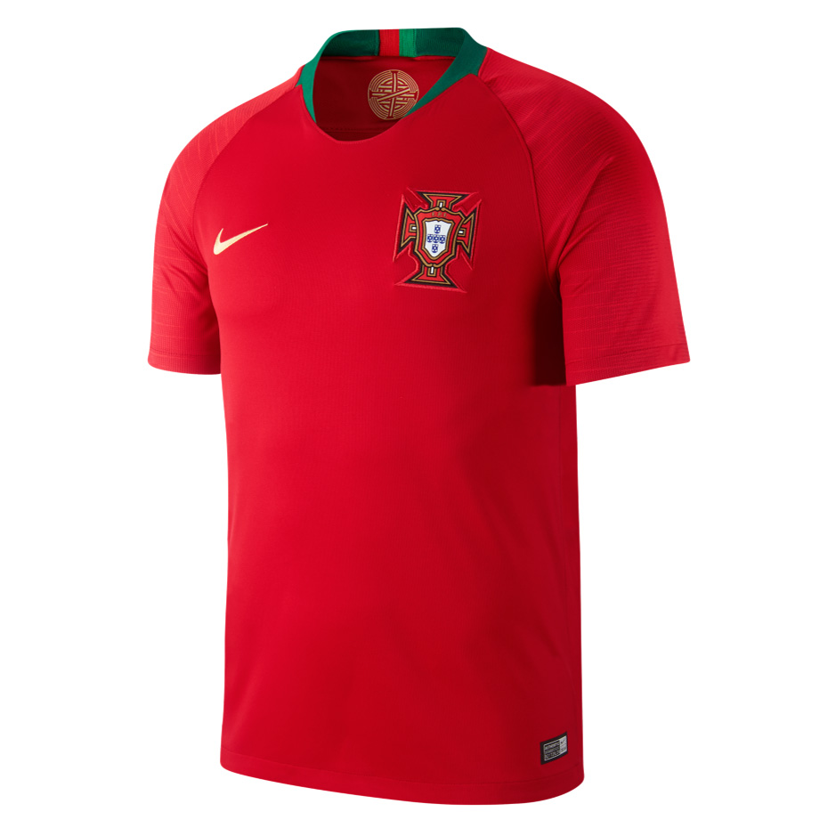 Portugal 2018 World Cup Home Red Shirt Soccer Jersey