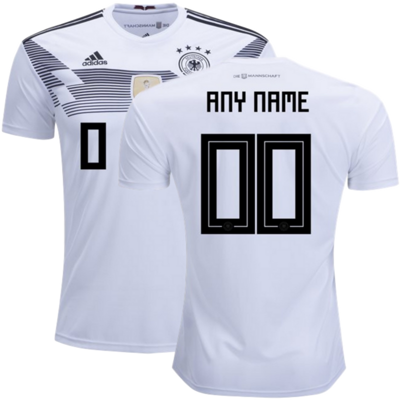 Germany 2018 World Cup Home Personalized Shirt Soccer Jersey