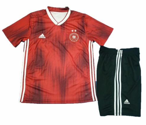 Germany 2019 World Cup Away Soccer Kits Shirt With Shorts