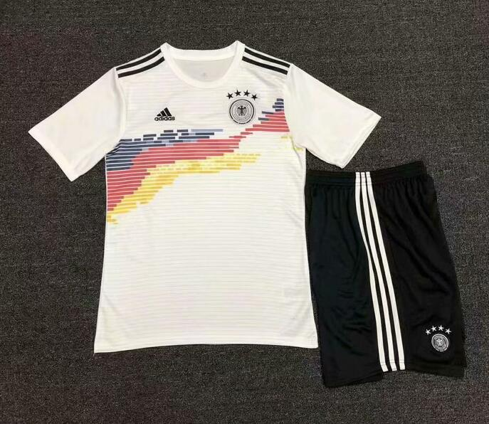 Germany 2019 World Cup Home Soccer Kits Shirt With Shorts
