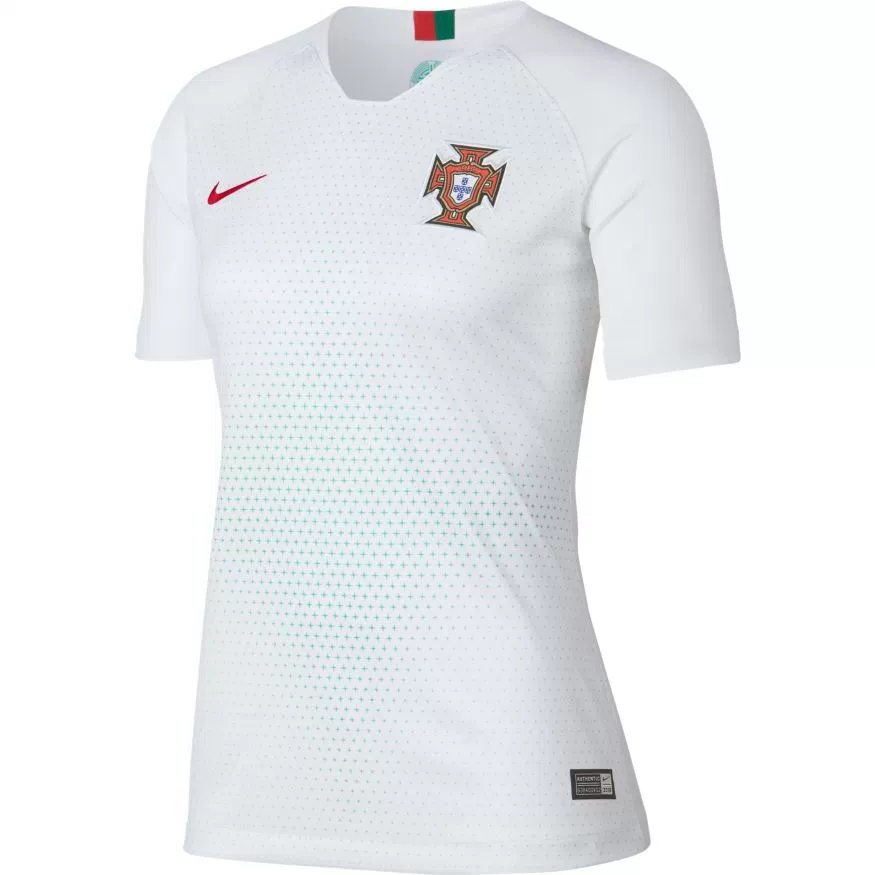 Portugal 2018 World Cup Home Women's Red Shirt Soccer Jersey