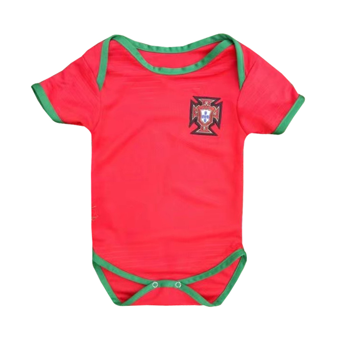 Portugal 2018 World Cup Home Infant Shirt Soccer Jersey Little Kids